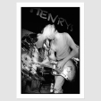 Print Of KURT COBAIN (NIRVANA) / SIR HENRY'S, CORK / 20 AUG 91
