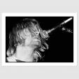 Print Of KURT COBAIN (NIRVANA) / TOP HAT, DUN LAOGHAIRE / 21 AUG 91