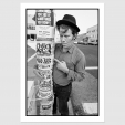 Print Of TOM WAITS / SAN FRANCISCO / 15 AUG 92